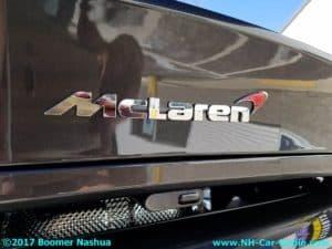 Mclaren with Hidden Radar